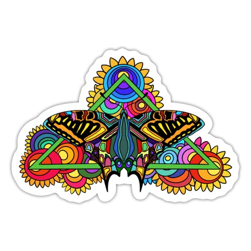 Happy Butterfly! - Sticker