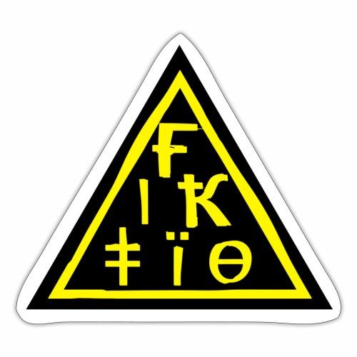 Fiktio Logo Sticker - Tarra