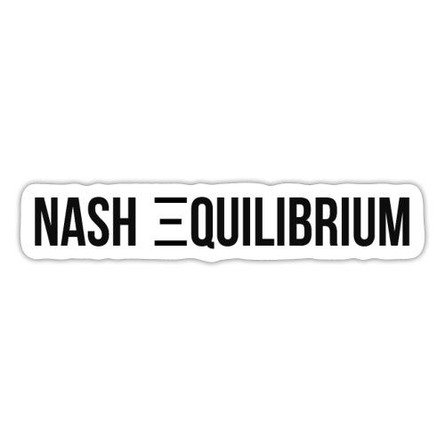 Nash equilibrium - Sticker