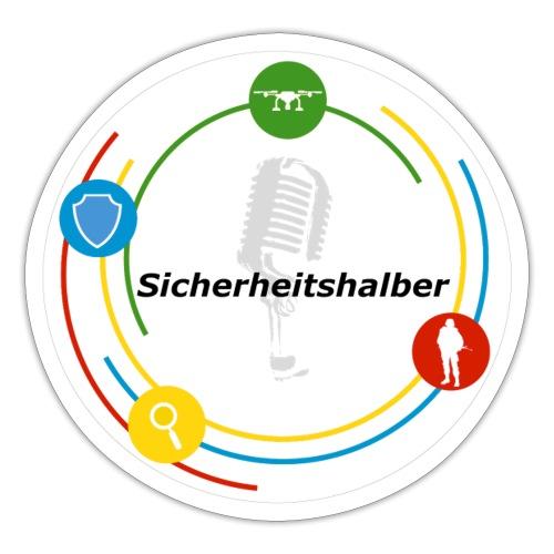 Sicherheitshalber Logo - Sticker