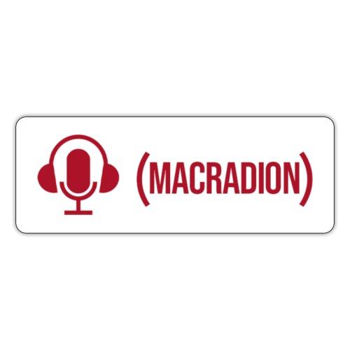 Project Macradion - Klistermärke