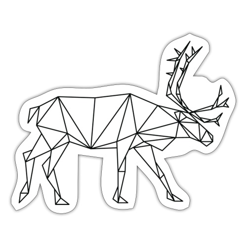 Reindeer - Sticker