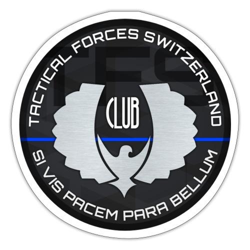 TFS Badge gris - Autocollant