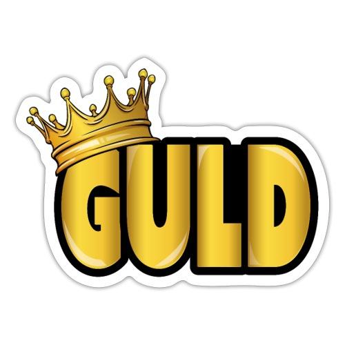 Guld - Klistermärke