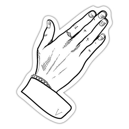 Hand V - Sticker