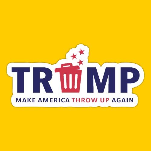 Trump trash - Klistermärke