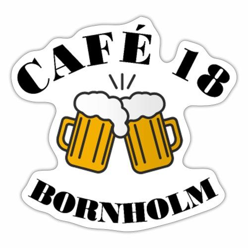 Café 18 Logo 2020 - Sticker