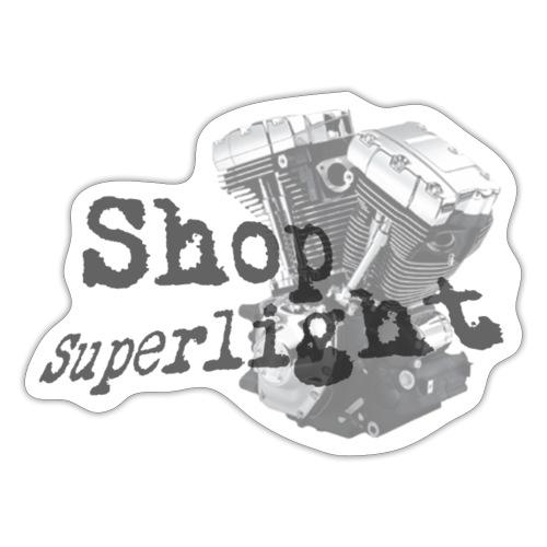 ShopSuperlight Logo stor - Sticker