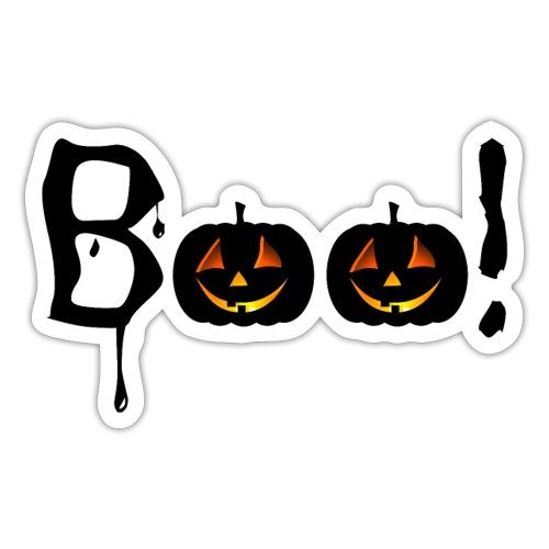 Halloween - Boo! - Sticker