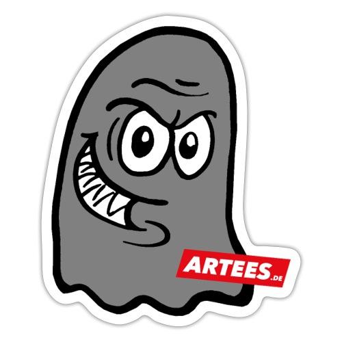 Artees GHOST Grey - Sticker