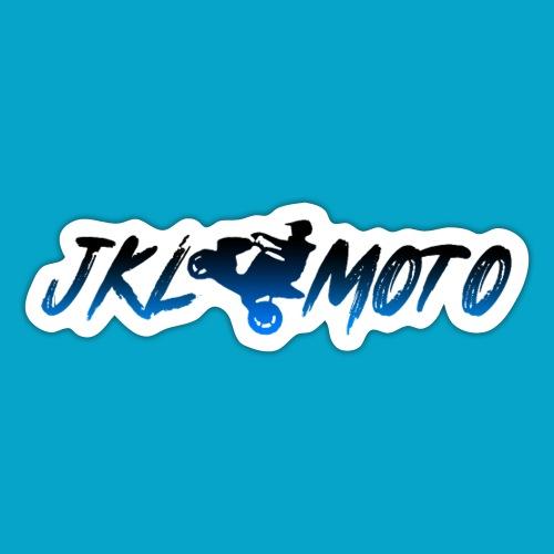 JKLMoto Aerox White - Klistermärke