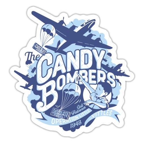 Candy Bombers Tribute - Sticker