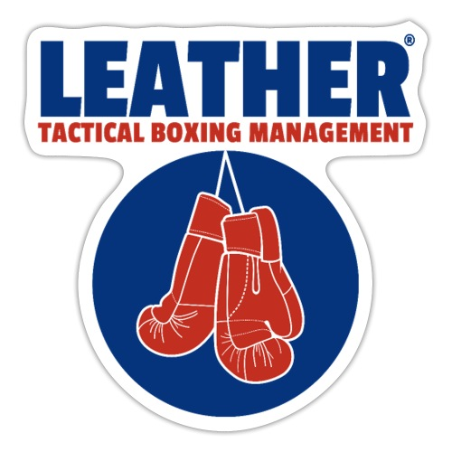 The LEATHER® Complete Logo - Vertical - Sticker