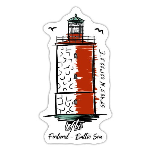 Finnish Lighthouse UTÖ Textiles, and Gifts - Tarra