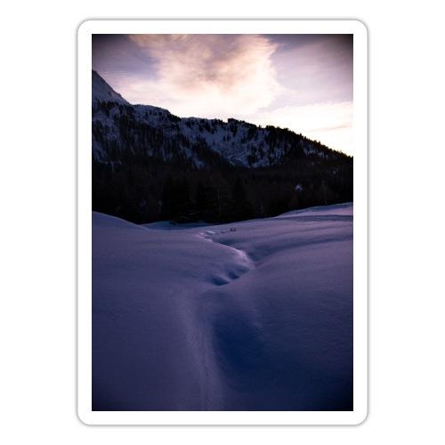 snow path - Adesivo