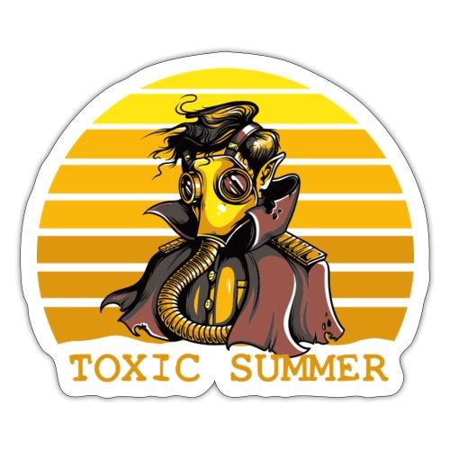 Toxic Summer - Pegatina
