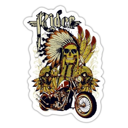 Skull Rider - Pegatina