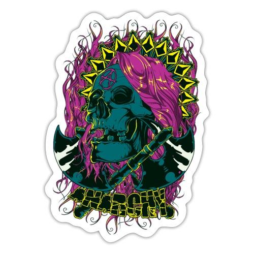 Purple Anarchy - Pegatina