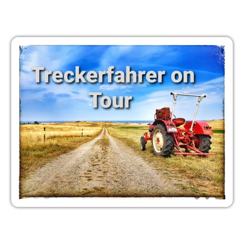 Treckerfahrer on Tour - Sticker