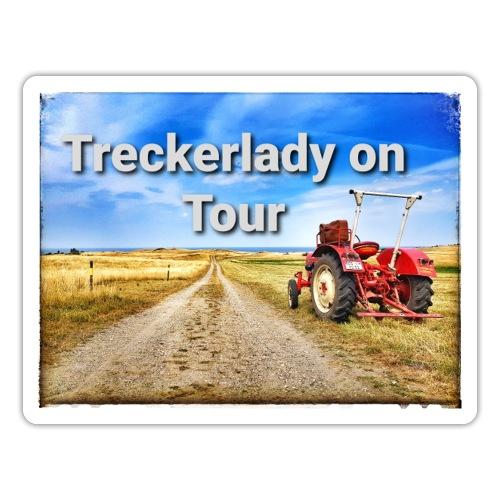 Treckerlady on Tour - Sticker