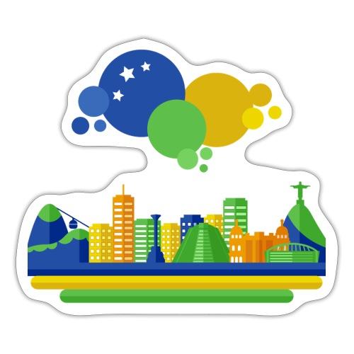 Rio de Janeiro top - Sticker