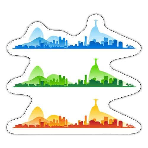 Rio de Janeiro Silhouette - Sticker