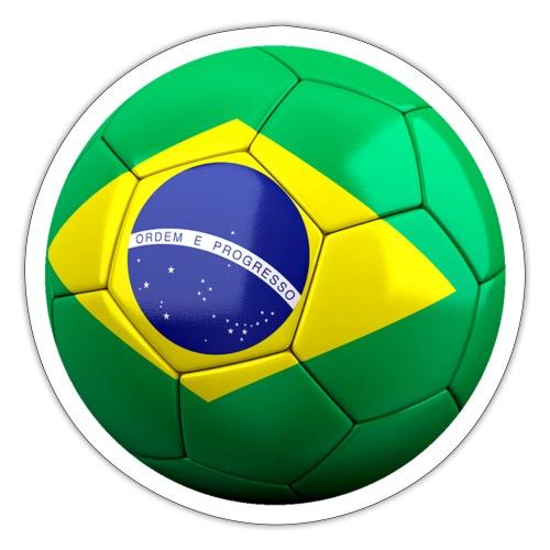 Bola de futebol brasil - Sticker