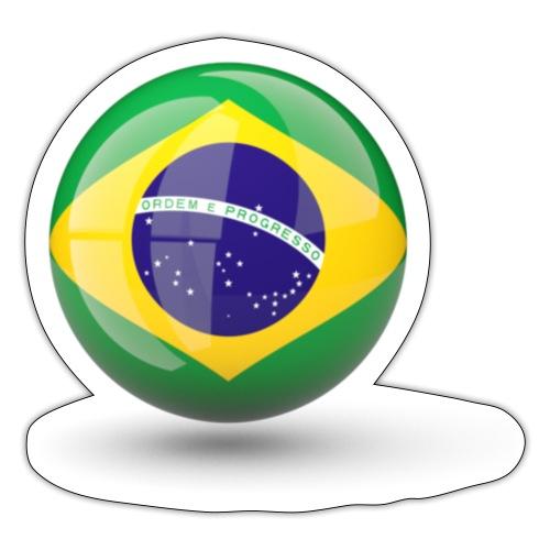 Símbolo da Bandeira do Brasil - Sticker