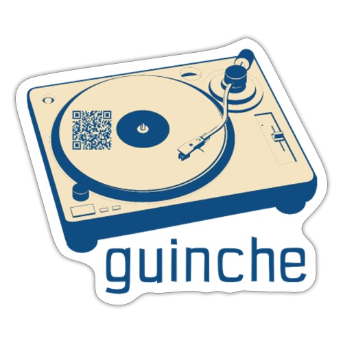 Guinche blue - AW20/21 - Autocollant