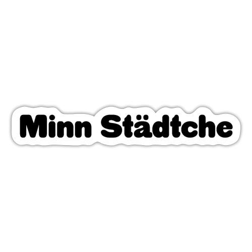 Minn Städtche - Sticker