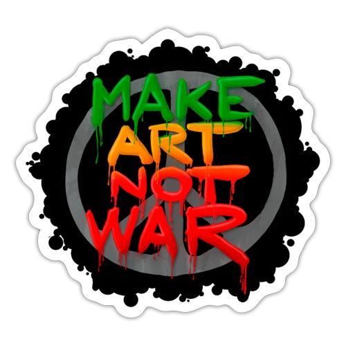 MAke Art Not War - Sticker