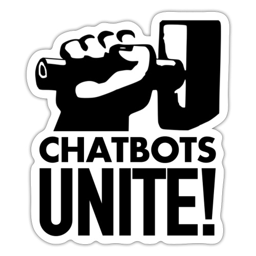 ChatbotsUnite - Autocollant