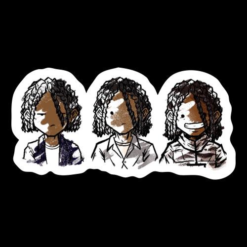 Mehki Raine 3-Part Evolution - Sticker