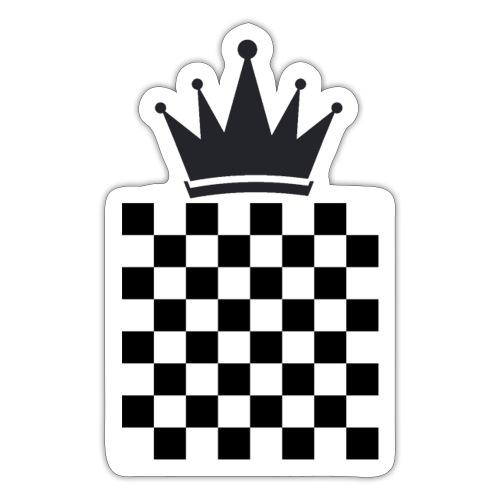 Schach König - Sticker