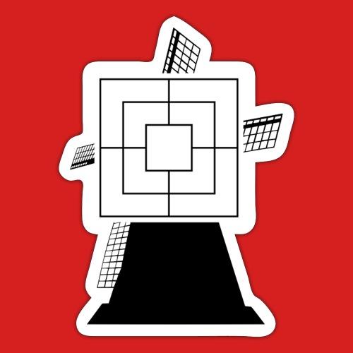 Mühle Meister - Sticker
