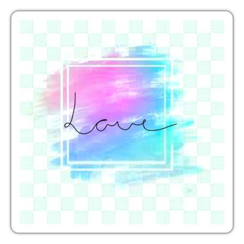 Paint - Love - Sticker