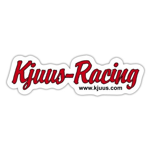 Kjuus-Racing - Klistremerke