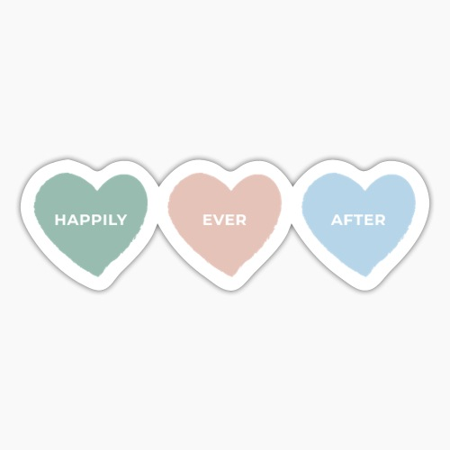 Happily ever after - Sticker