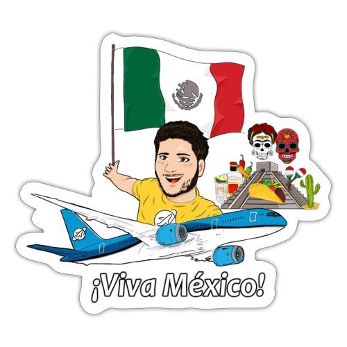¡Viva México! - Viaja con Yoel - Pegatina