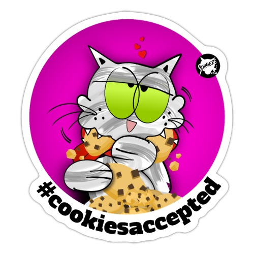 #cookiesaccepted - Sticker