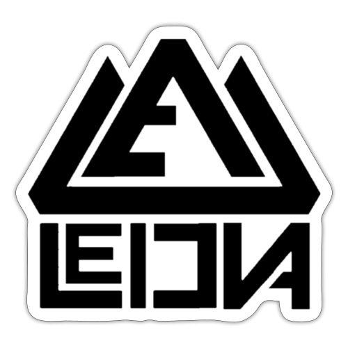 LEDUNA BLACK LOGO - Klistermärke