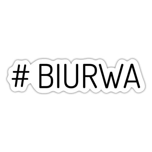 #Biurwa - Naklejka