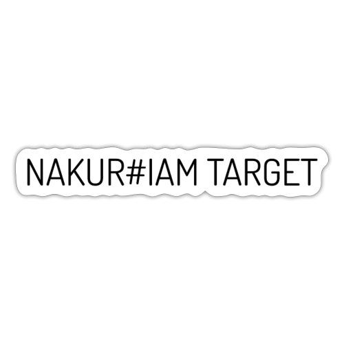 Wlepa Nakur#iam Target - Naklejka