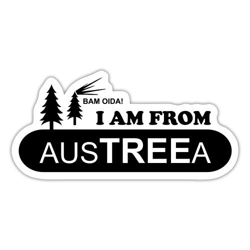 BAM OIDA! I am from AusTREEa (Österreich) - Sticker
