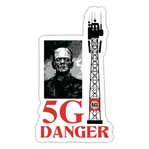 5 G DANGER - Sticker
