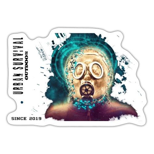 mask black - Sticker