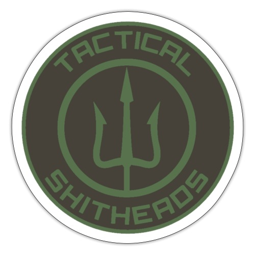 Tactical Shitheads Logo - Sticker