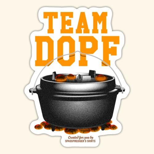 Dutch Oven T-Shirt Team Dopf - Sticker