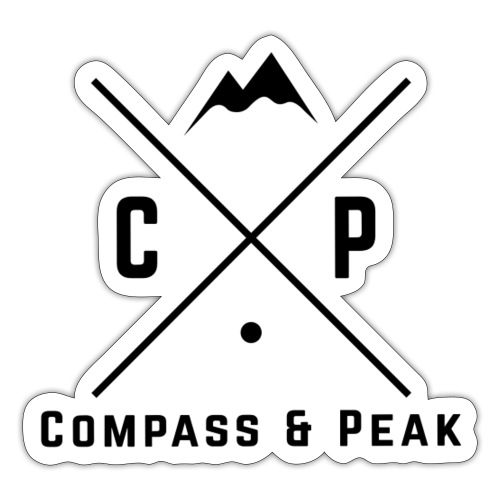 Original Compass & Peak Collection - Sticker