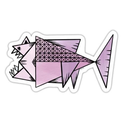 Lilla fisk - Klistermärke